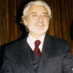 Il prof. Giancarlo Rinaldi, eletto presidente della CNUPI nell'Assemblea di Verona del 27.11.1997. La presidenza Rinaldi, fece sèguito a quella del Dr. Nicola Abrescia, presidente dell'Università Popolare di Verona.