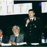 Frattamaggiore, 7 maggio 2002: Convegno su Scuola e legalità organizzato all'Università Popolare di Napoli Nord, presidente C. Pezzullo.