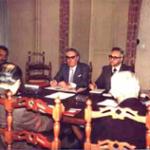 Ancòra un'immagine dei lavoro preparatori che portarono alla fondazione della CNUPI.